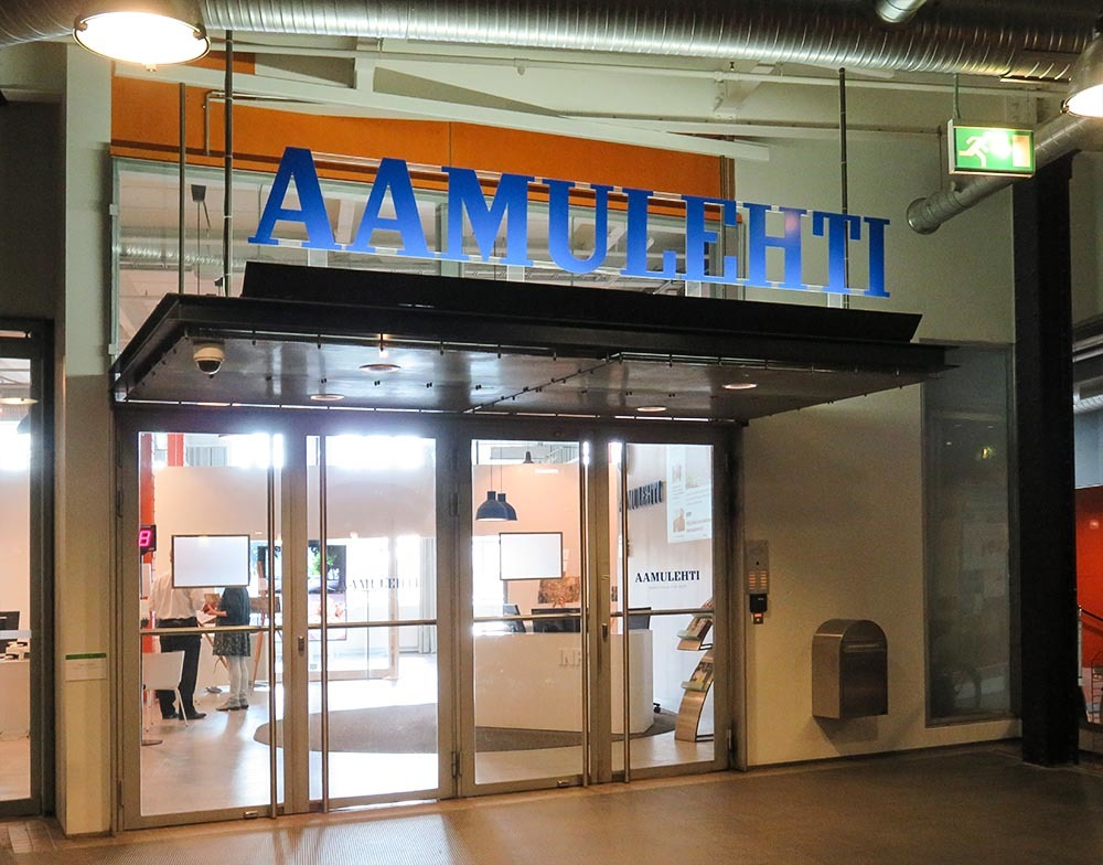 フィンランド タンペレ Aamulehti