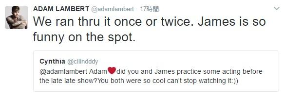 Adam Lambert Twitter Party