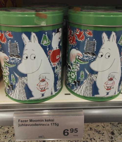 フィンランド Fazer ムーミンビスケット 缶入り 第4弾