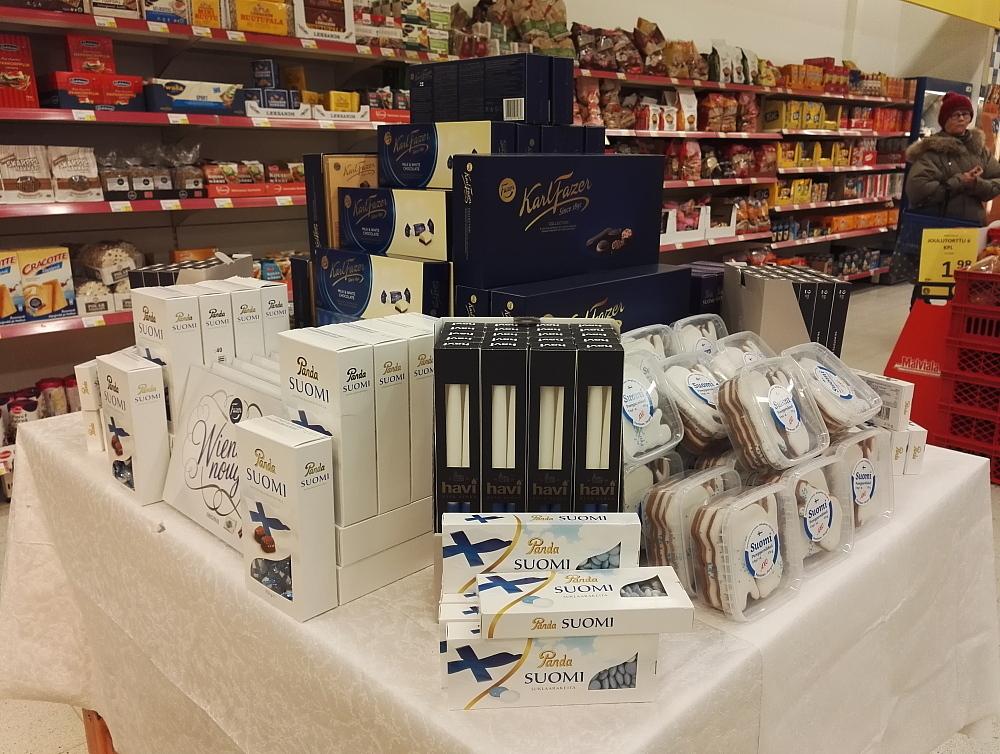 フィンランド 独立記念日 チョコ