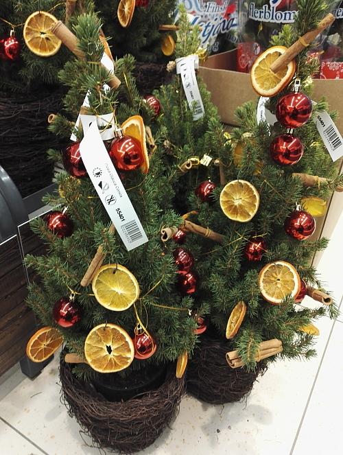 フィンランド ツリー 香り シナモン オレンジスライス