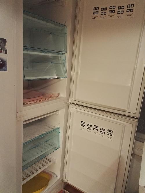 フィンランド 冬 冷凍庫の霜取り