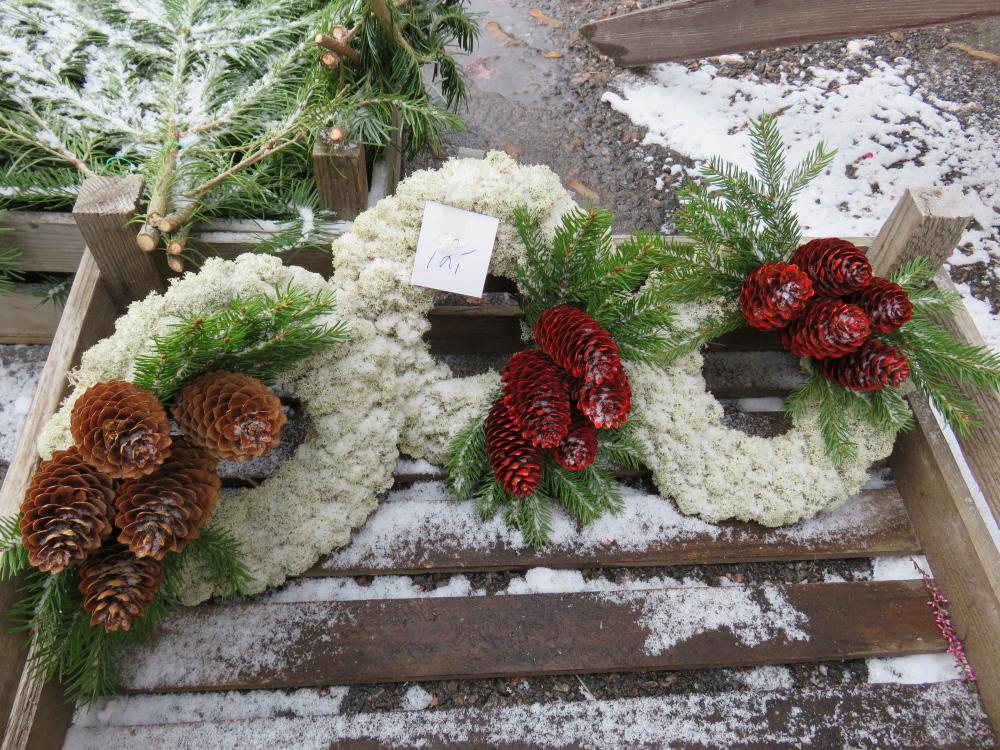 フィンランド クリスマスリース