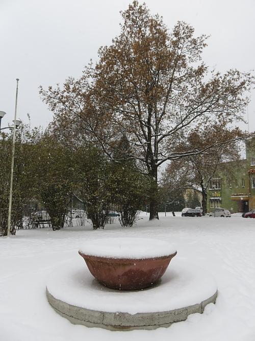 フィンランド 11月 雪