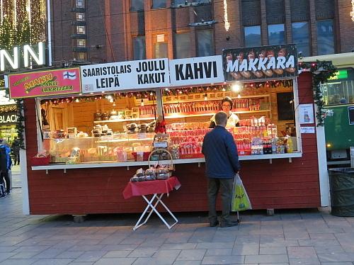 フィンランド ヘルシンキ クリスマス 出店