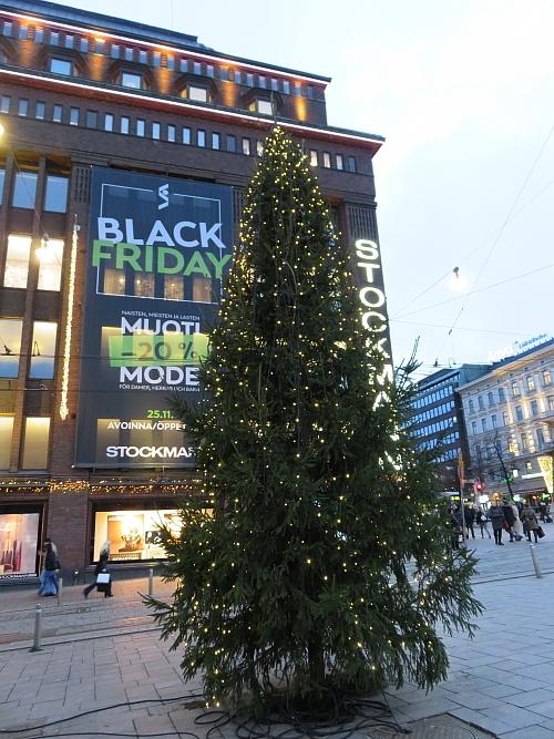 フィンランド ヘルシンキ クリスマスライト