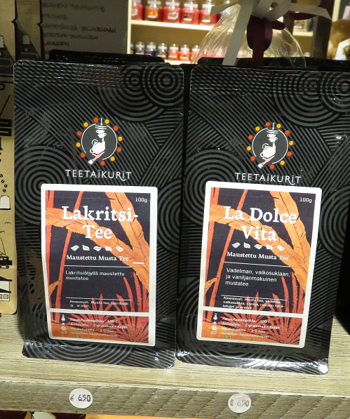 フィンランド 黒い味 ラクリッツ 紅茶