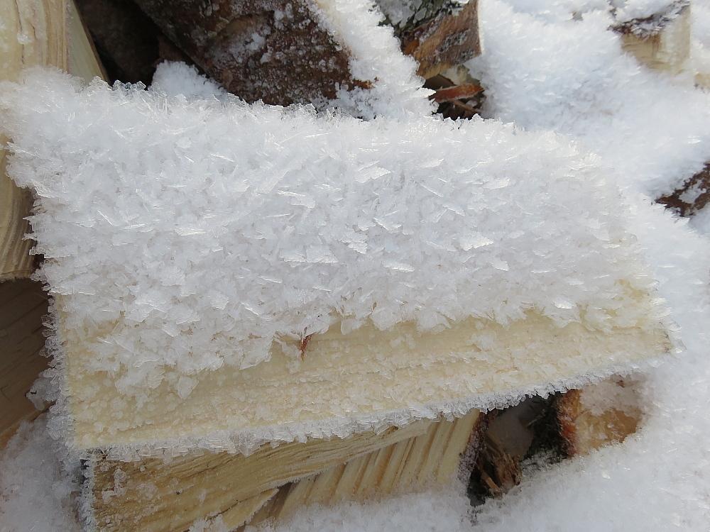フィンランド 霜 氷柱