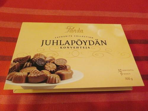 フィンランド パンダ チョコレートボックス Panda Suklaakonvehti