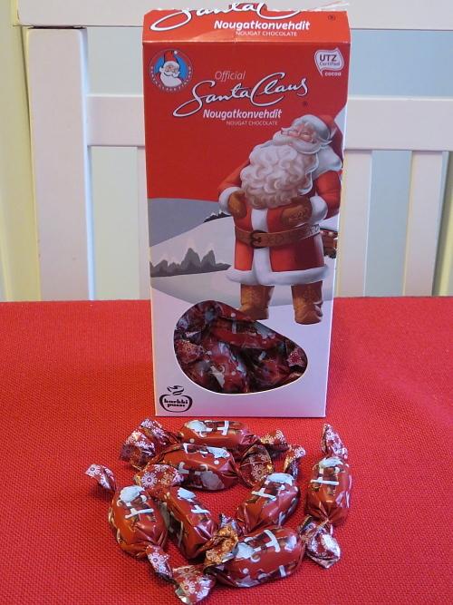 フィンランド サンタクロースチョコ ボックス Santa Claus Finland