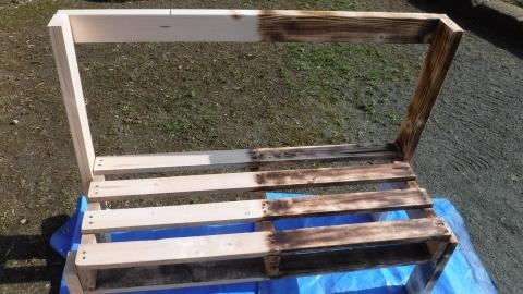 2017手作りベンチ7