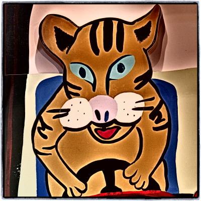 たけちゃんの猫の絵