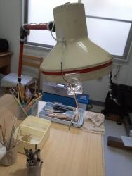 ゼットライトに装着した内視ランプ