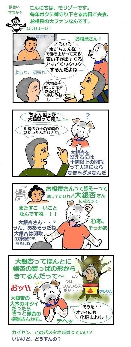 モリゾーちん205 大銀杏さん