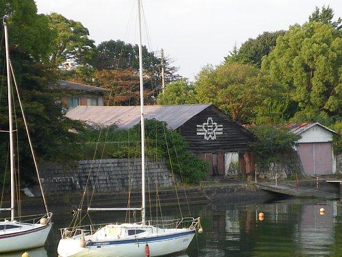 神陵ヨットクラブ艇庫1