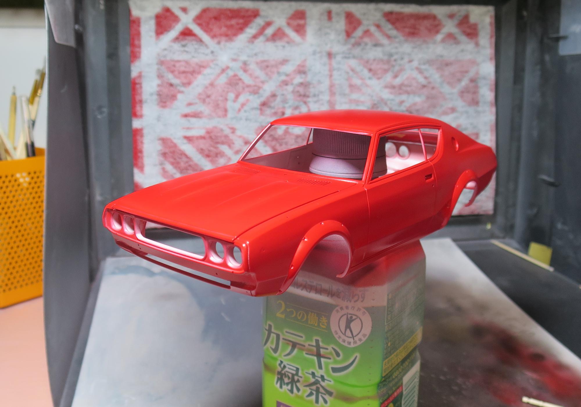 ケンメリ赤塗装1