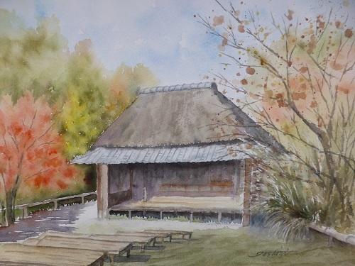 農村歌舞伎小屋