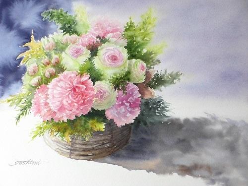 スケッチ展のお花