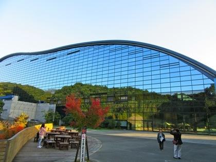 九州国立博物館の紅葉