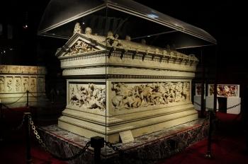 アレクサンドロス大王の墓