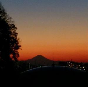 20170101夕方の富士山_R
