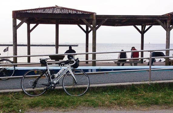 稲毛海岸海浜公園スタート地点