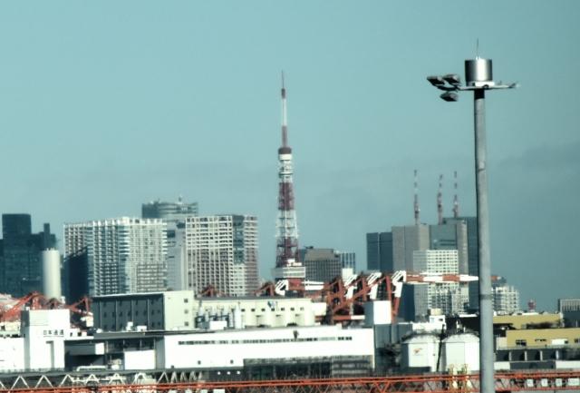羽田からの東京タワー2016120000001