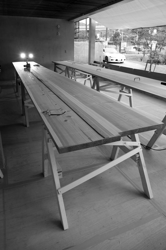 170107舷側板製作1