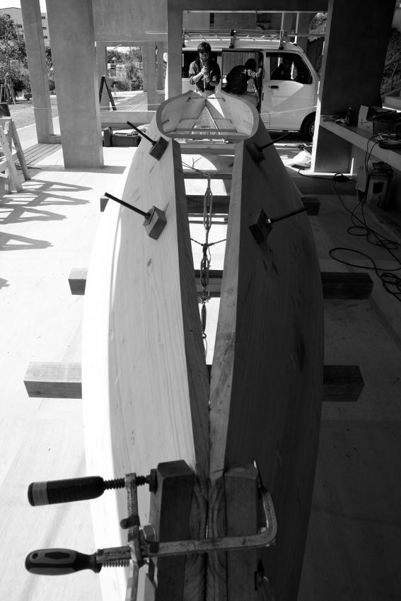 170122舷側板曲げ作業27