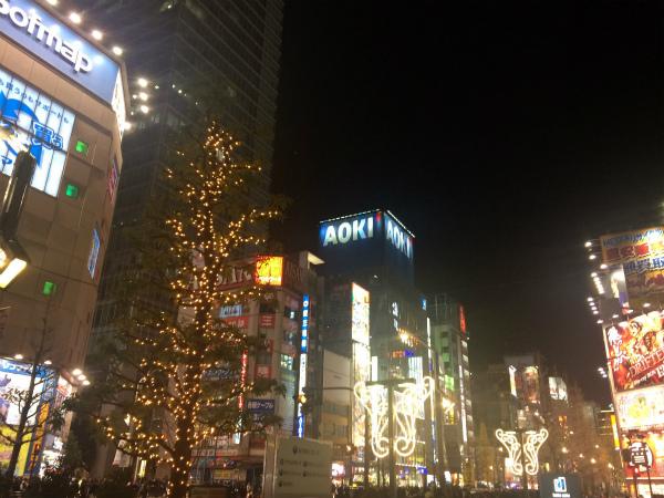 クリスマス 秋葉原