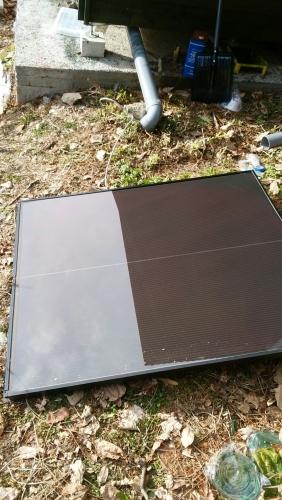 ソーラーパネル増設 ポスト設置_170115_0008