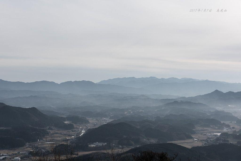 20170107 鳥見山見晴台(大宇陀方面)