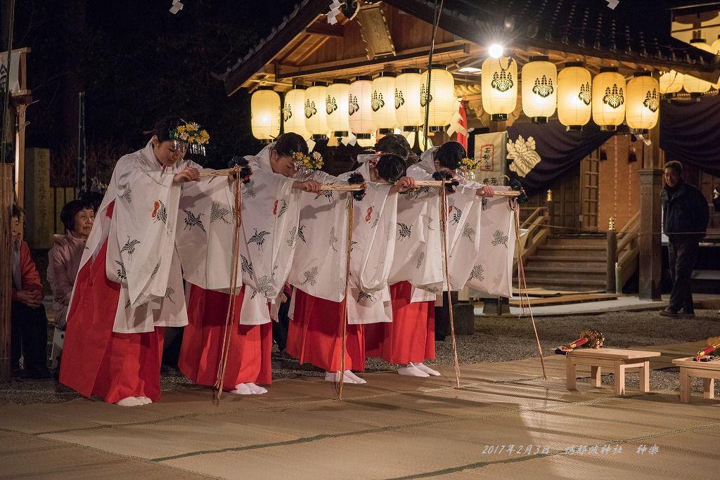 20170203 鴨都波神社 神楽 (2)
