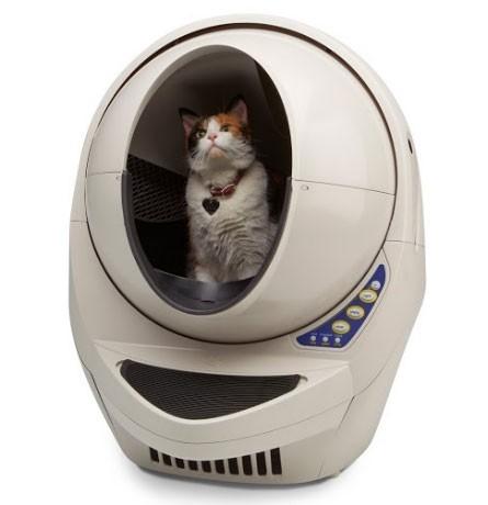 litter-robot-open-air-with-cat