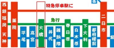 大橋路線図
