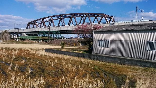 紅梅と九州新幹線