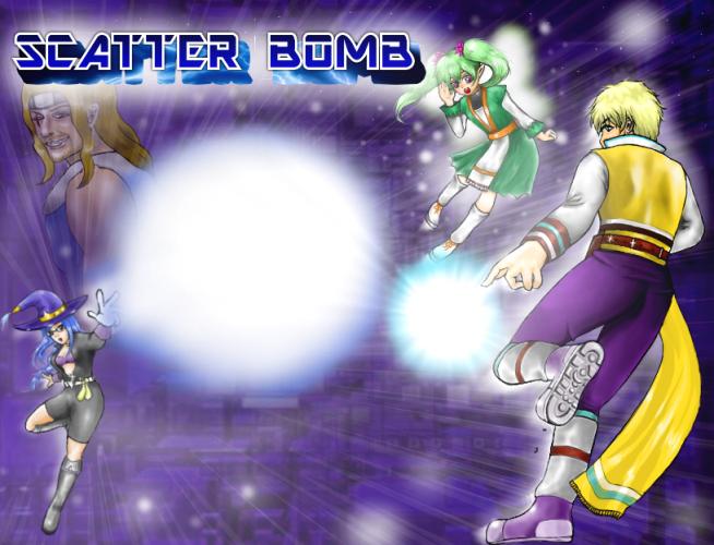 scatter bomb
