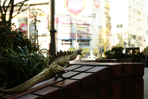 矢口蘭堂に連れられて、蒲田に帰省した、シン・ゴジラ第二形態、蒲田くん