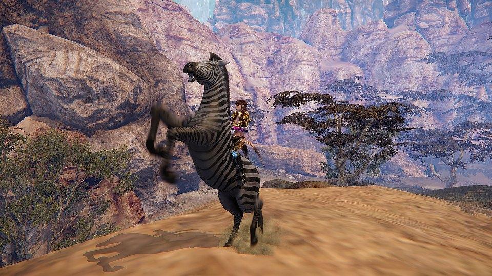 基本無料の天地を駆け巡る超大作ファンタジーオンラインゲーム『イカロスオンライン』 大型アップデートで新地域「アクラート草原」を追加!!