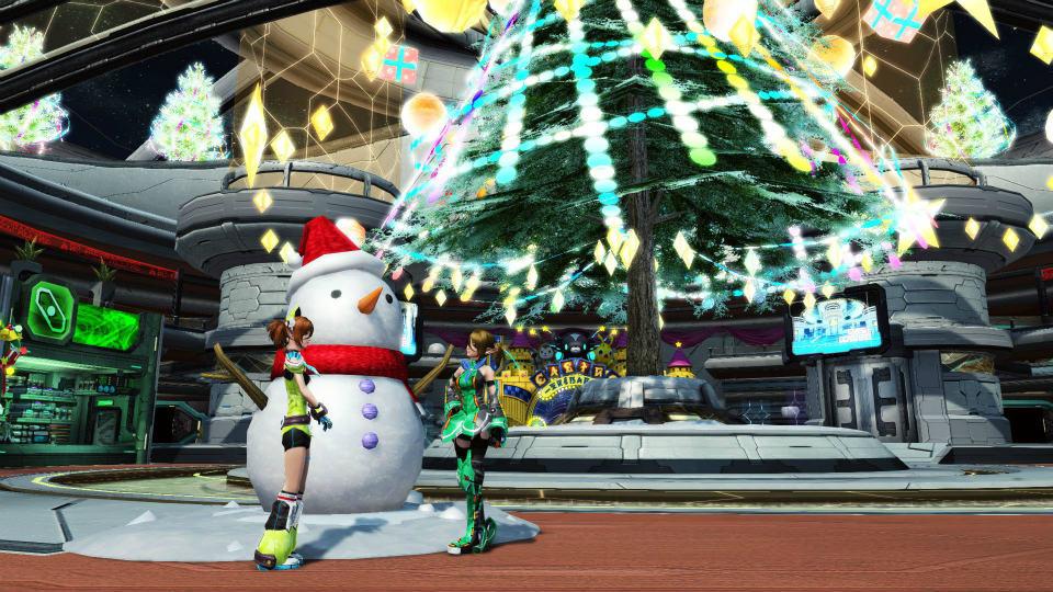 基本無料の人気ファンタジーオンラインゲーム『ファンタシースターオンライン2(PSO2)』 クリスマスに合わせたイベントを開催…