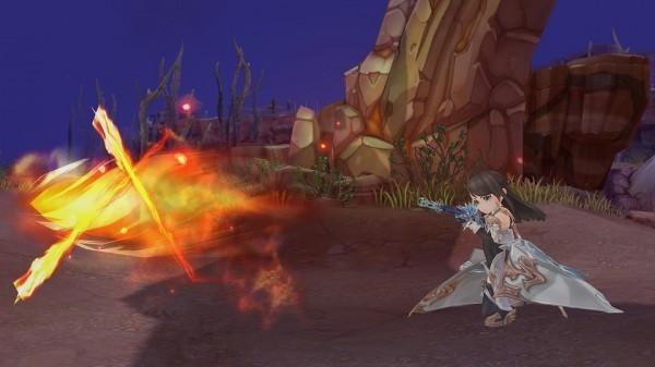 基本無料の新作ドラマチックアクションRPG『セブンスダーク』 12月1日にド派手なスキルが特徴の新武器「ライフル」を実装