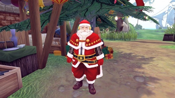 基本プレイ無料のアニメチックファンタジーオンラインゲーム『幻想神域』 アバターや家具を獲得できるクリスマスイベントを開催したよ~