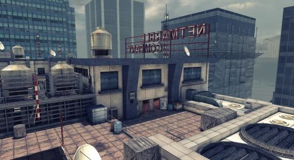 基本プレイ無料のガンシューティングオンラインゲーム『HOUNDS(ハウンズ)』 PvPモード新マップ「ペントハウス」が登場したよ~!!新マップを記念した経験値アップイベントも開始~♪