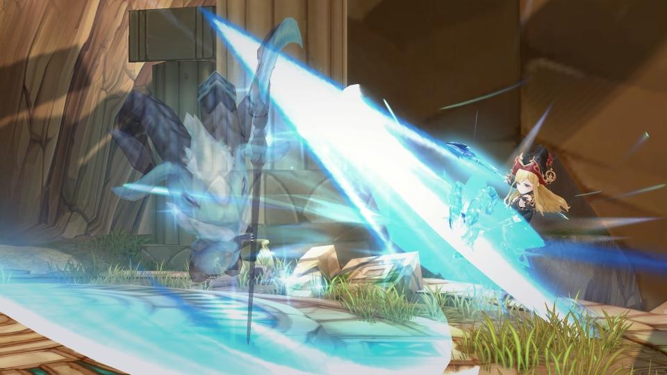 基本プレイ無料のドラマチックアクションRPG『セブンスダーク』 使い魔を操って戦う新武器「サイズ」の実装が決定したよ~!!
