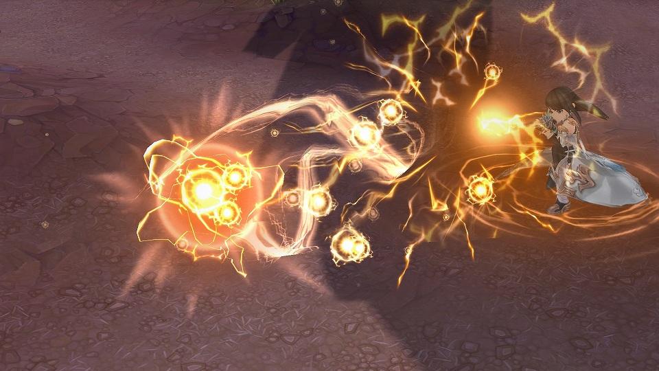基本プレイ無料の新作ドラマチックアクションRPG『セブンスダーク』 12月1日よりド派手なスキルがウリの新武器「ライフル」を実装するよ~!!