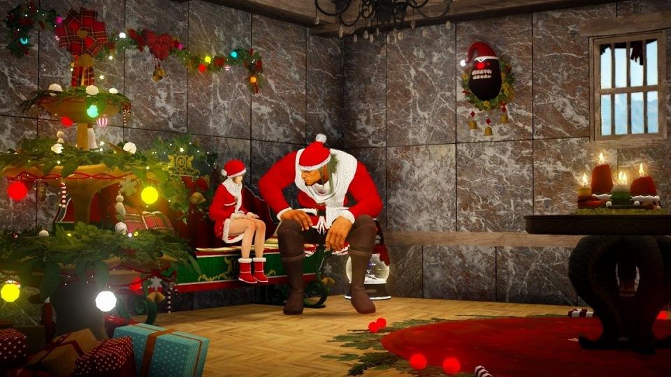 基本プレイ無料の人気のノンターゲティングアクションRPG『黒い砂漠』 砂漠にサンタがやってきたぞ!プレゼントが降ってくる「聖なる夜の贈り物」を開催だ~!!