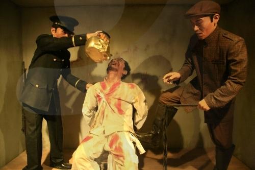 20170107 韓国独立記念館の拷問の蝋人形