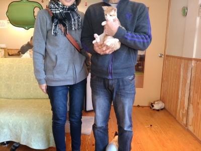 茶太郎くんのパパとママ