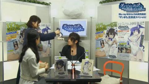 Blu-ray BOX&OVA 発売直前!「ダンまち」ニコ生スペシャル!!