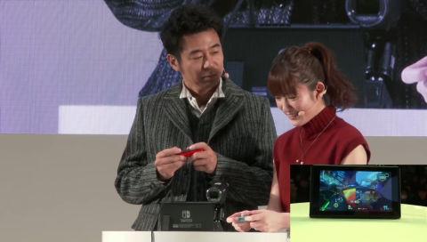 Nintendo Switch 体験会 2017(1日目) 「Nintendo Switch」紹介ステージ